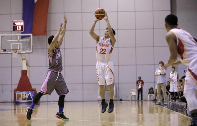 Tanduay rides third quarter surge to pull away from CEU and earn first win in Foundation Cup