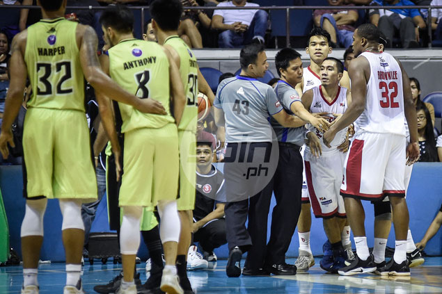Cone plays down LA Tenorio-Terrence Romeo fight as simply 'two tough guys going at it'
