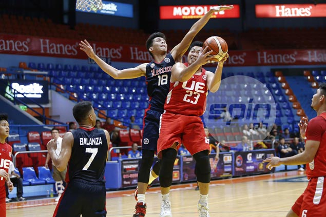 UE Red Warriors defeat struggling Letran Knights to bow out of Premier Cup on winning note