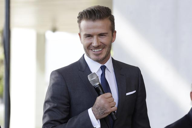 David Beckham set to launch his own men's grooming line under L'Oreal called House 99
