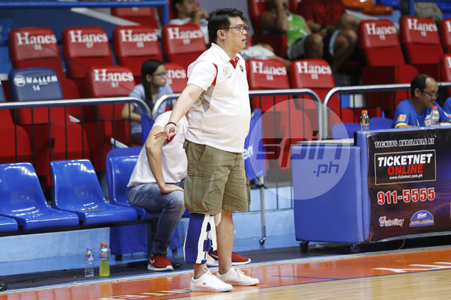 Poor preseason record no dampener as UE starting to play 'the right way,' says Pumaren