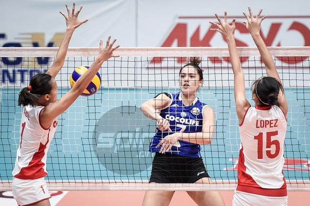 Michele Gumabao stars as Cocolife beats Cherrylume for first win in PSL All Filipino