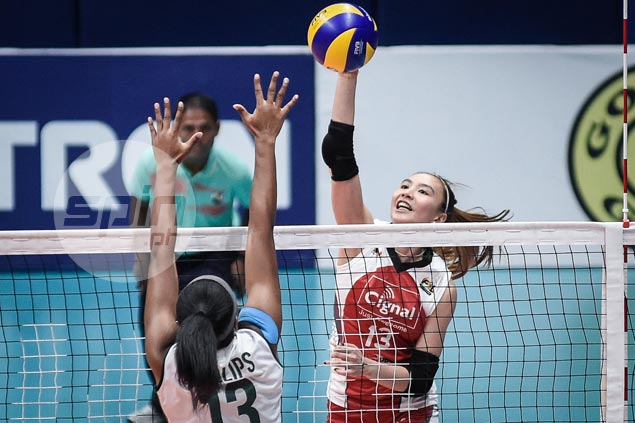 Tough start for Cignal in PSL All Filipino as HD Spikers squeak past Sta. Lucia