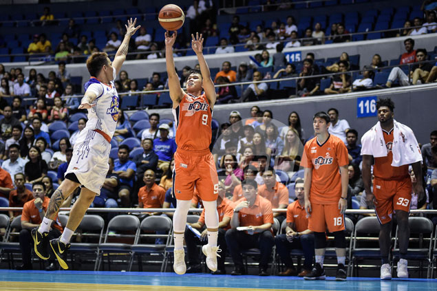 Vastly improved Meralco guard Baser Amer set for Gilas Pilipinas call-up