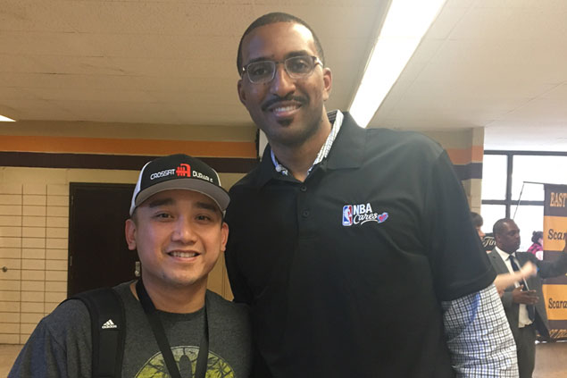 Shareef Abdur-Rahim's post-NBA life is secure as he flexes his intellectual muscle