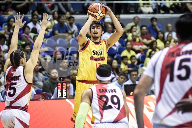 Clutch Aldrech Ramos trey pours cold water on SMB rally as Star takes Game One