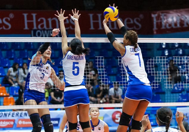 Jaja Santiago, EJ Laure team up to help Foton bag first-round sweep with win over Cocolife