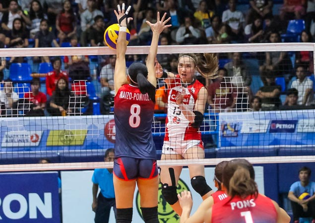 Unbeaten Cignal deals Petron a reality check with convincing PSL victory