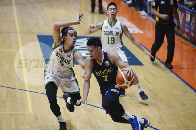 NU Bulldogs keep quarterfinal hopes alive with rout of also-ran St. Benilde Blazers