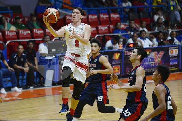 Red Lions rip Knights to secure quarterfinal spot with sixth win in as many games