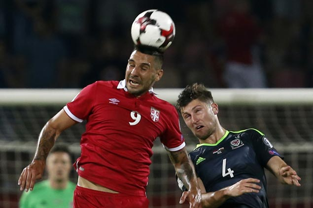 Aleksandar Mitrovic equalizes for Serbia to frustrate Wales side missing Gareth Bale