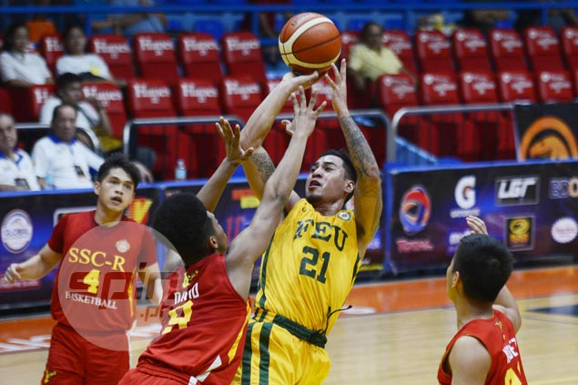 RJ Ramirez stars as FEU Tamaraws rally to beat San Sebastian Stags