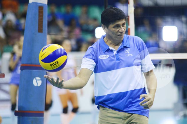 Coach Roger Gorayeb urges BaliPure players to raise their game to keep title hopes alive
