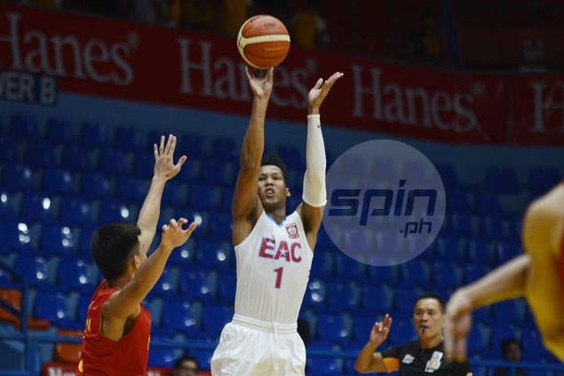 Sidney Onwubere vows to limit turnovers as EAC Generals take on Letran Knights