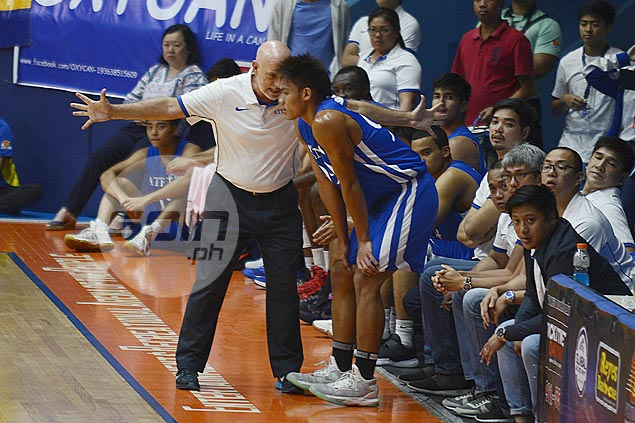 Tab Baldwin pleased with rookie Troy Mallillin's debut with Ateneo Blue Eagles