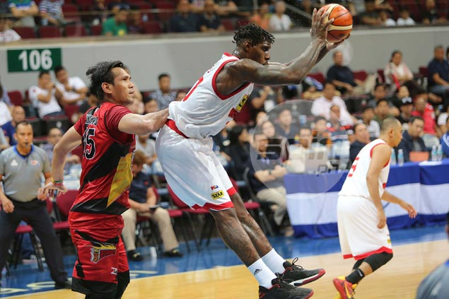 Ratliffe's monster rebounding goes for naught as Maliksi, Lee fire blanks for Star