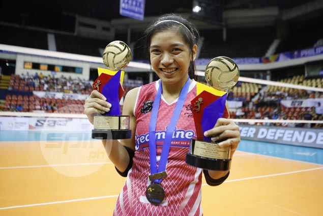 Alyssa Valdez adds PVL Reinforced Conference MVP trophy to growing collection