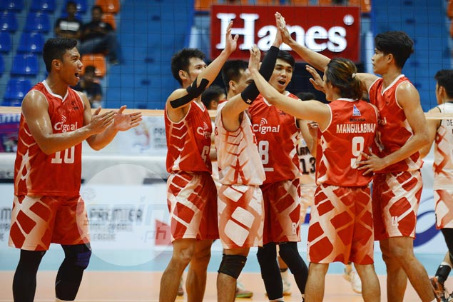 Rex Intal, Mark Alfafara show way as Cignal completes sweep of Air Force in PVL finals