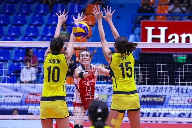 HD Spikers enter PSL All Filipino second round unbeaten after four-set win over F2