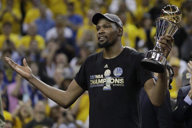 Finals MVP Kevin Durant puts in final word against critics in ready Nike ad: 'Debate this'