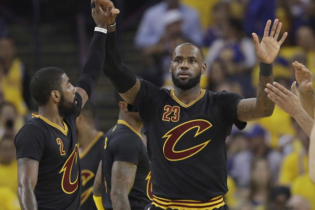 Kyrie Irving's final act is a heartfelt tribute to 'consummate professional' Lebron James