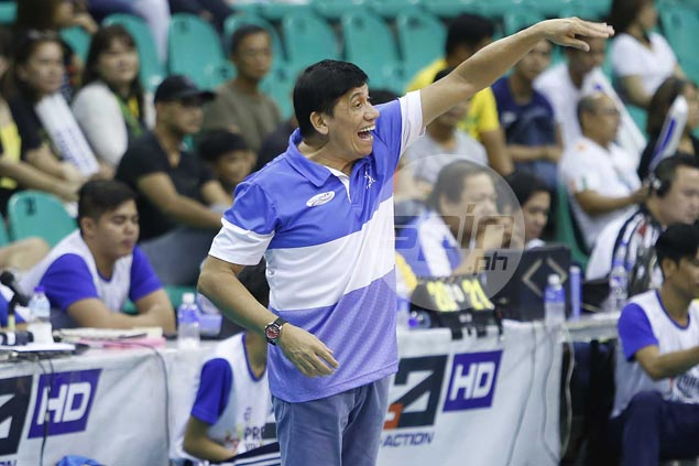 Coach Roger Gorayeb warns Balipure of Pocari Sweat tactical changes for PVL title decider