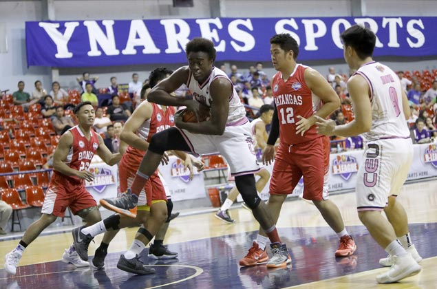 Rod Ebondo lifts CEU Scorpions over Batangas for first win in D-League Foundation Cup
