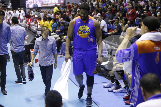 TNT bares it wasn't broken shoe but foot pain that took Joshua Smith out of Game 3