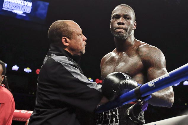 World heavyweight boxing champ Deontay Wilder arrested for marijuana possession