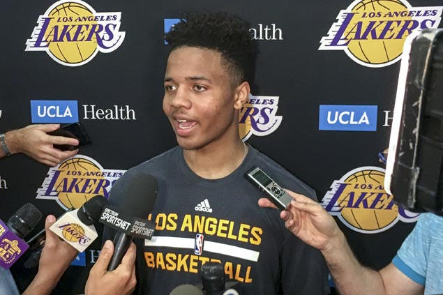 Top draft pick prospect Markelle Fultz happy to land on either side of famed Celtics-Lakers rivalry
