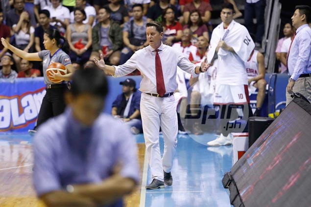 Cone feels Ginebra coming in blind for Game 4 amid 'rumors' over Smith status