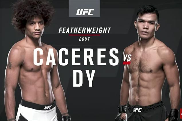 CJ de Tomas, Rolando Dy suffer setbacks in UFC debut at Fight Night Singapore card