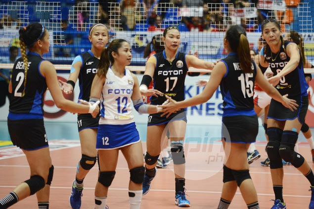 Unbeaten Foton shows might in handing Cignal first loss in Super Liga All Filipino