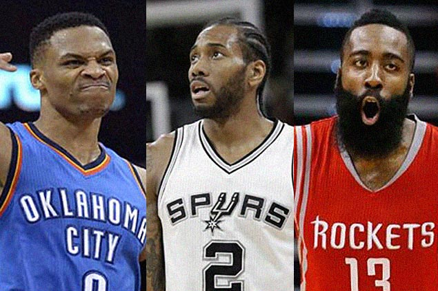 Four PBA coaches give NBA MVP nod to Russell Westbrook, two go for Kawhi Leonard