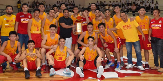 San Sebastian Staglets survive late Letran Squires rally to claim Fr. Martin Cup juniors title