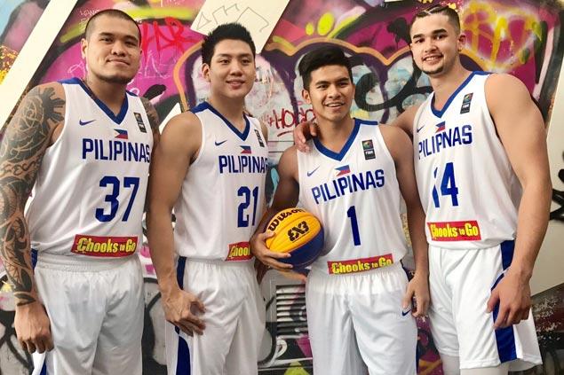 Team Pilipinas gets baptism of fire against Romania, host France in Fiba 3x3 World Cup
