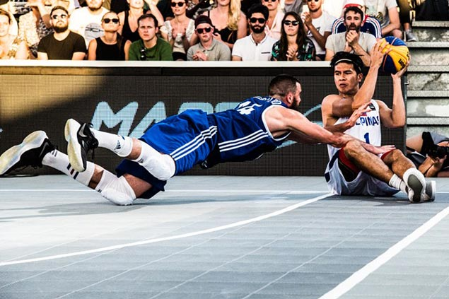 Philippines splits first two matches with loss to host France in Fiba 3x3 World Cup