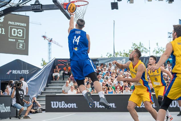Ravena, Paras lead late explosion as Philippines downs Romania in Fiba 3x3 World Cup debut