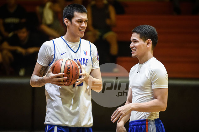 Kevin Alas the new face as Gilas continues to hold practice behind closed doors