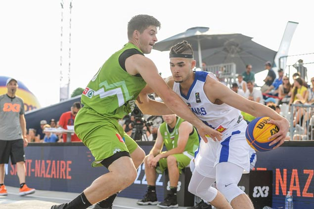 Philippines' brave stand vs second-seed Slovenia falls short in Fiba 3x3 World Cup