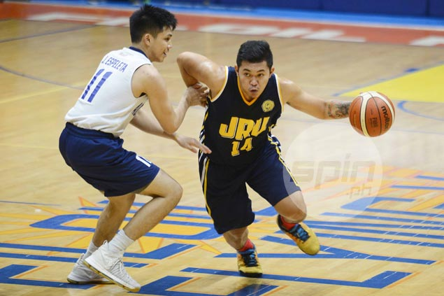 JRU Bombers overcome fourth-quarter hiccup to dispose of Adamson Falcons and gain semis