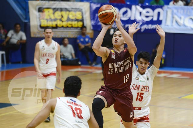 Paul Desiderio confident UP Maroons can carry over preseason gains to UAAP campaign