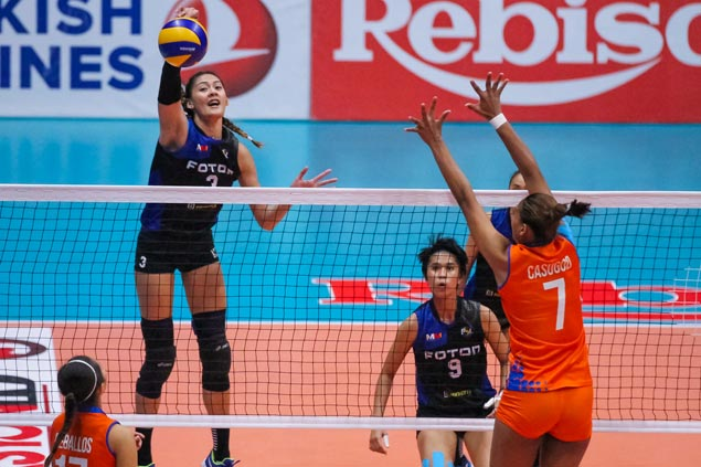 Foton survives five-set scare from Generika to stay unbeaten in PSL All Filipino