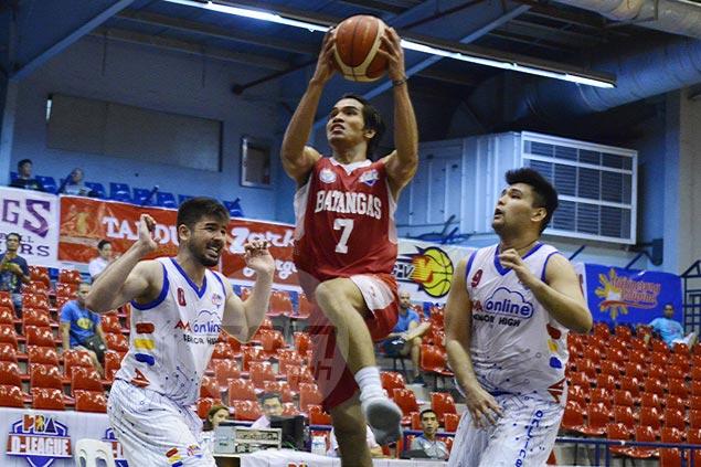 Jerard Bautista shows way as Batangas rips winless AMA Online