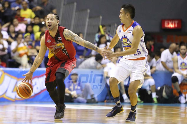Brian Heruela makes every second count in rare appearance for Beermen