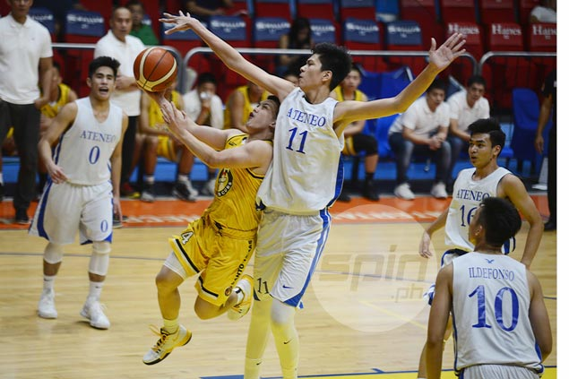 Kai Sotto towers over UST as Ateneo stays perfect to keep pace with unbeaten NU in UAAP juniors
