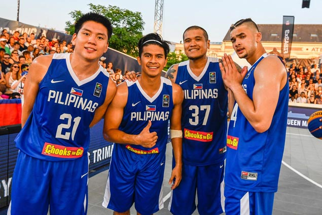 Kiefer Ravena and Co. confident Philippine team can do much better in 3x3 worlds as 2018 hosts