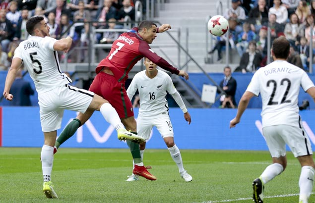 Cristiano Ronaldo scores 75th international goal as Portugal rips New Zealand to gain semis