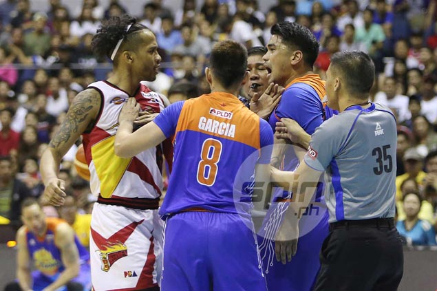 Chris Ross says spat with Reyes, trash talk from TNT imports only 'got my juices flowing'
