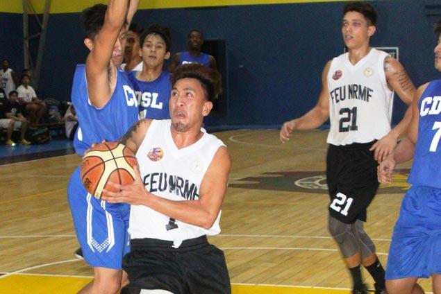 FEU-NRMF, Colegio de San Lorenzo forge title showdown in MBL Open